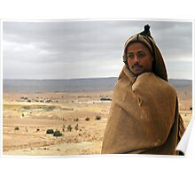 On the road to Tataouine (Tunisia) - World's people Poster