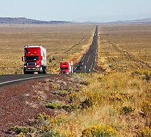 Central Oregon Highway by Julia Washburn