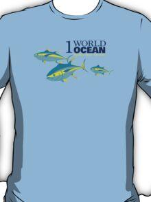 1 World Ocean - Yellowfin Tuna T-Shirt