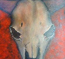 Cows Head - Landscape by Sonya Smith