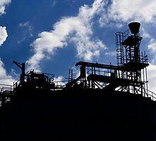 Sugar refinery in Greenwich, London by josephinebaker