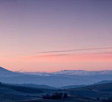 Valdorcia Sunrise by Marco Vegni