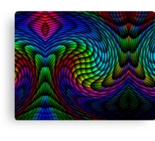 Exploding Colour Canvas Print