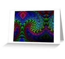 Exploding Colour Greeting Card