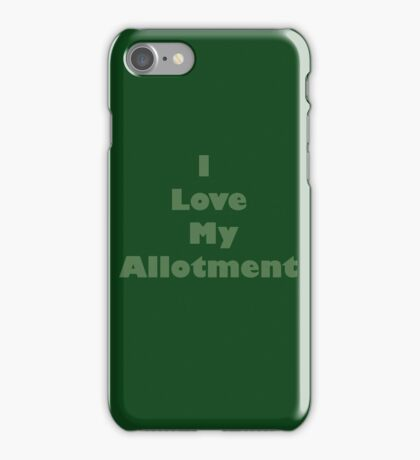 Allotment iPhone Case/Skin