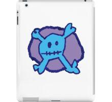 Graffiti Crossbones iPad Case/Skin