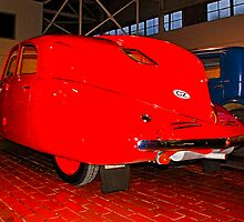 Luxury in Red--The Tatra T97? by Bryan D. Spellman