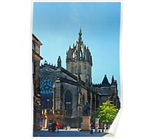 Cathedral on the Royal Mile Poster
