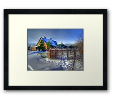 PINERIDGE HOLLOW  Framed Print