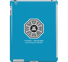 Station 7 - The Invader iPad Case/Skin