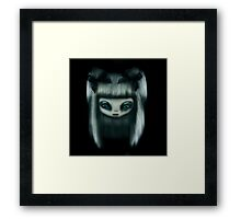 Silver Doll Framed Print