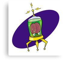 Aux, the Brain in a Jar Canvas Print