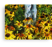 Sunshine and Flowers Canvas Print
