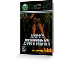 Computer Gamer Birthday Card Spoof Cover Age 17 Greeting Card