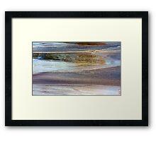 Wave Arrival Framed Print