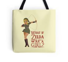 What if Zelda was a girl? (it's a joke) Tote Bag