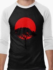 Oriental under a red sun Men's Baseball ¾ T-Shirt