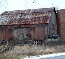 Grand Blanc Twp Barn  by Jellybean720