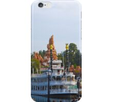 Mark Twain and Big Thunder iPhone Case/Skin