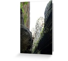 Temple Ruins - Siam Reap, Cambodia Greeting Card