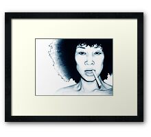 Supa Fly Elle - The Beauty Collection Framed Print