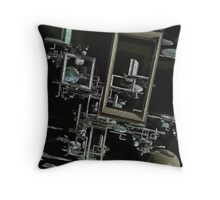 Frames in conjunction Throw Pillow