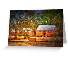 The Farm - Mount Barker, Adelaide Hills, South Australia Greeting Card