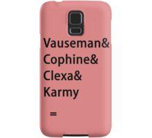 Lady Ships! Samsung Galaxy Case/Skin