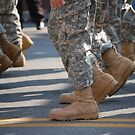 Marching Boots by Debbi Tannock