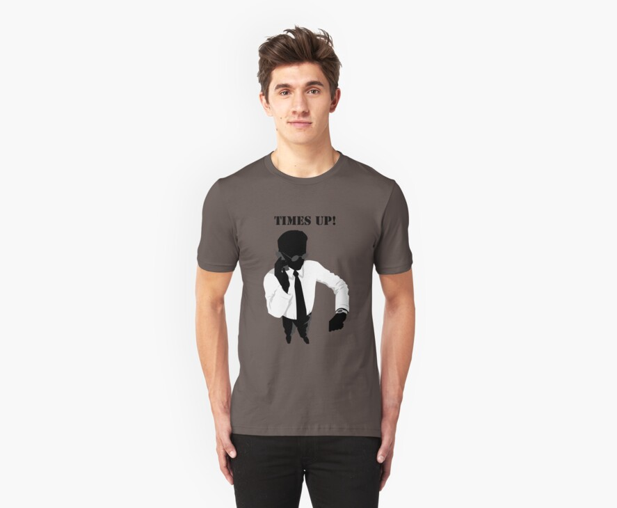 Business - Times Up! by Vintage Retro T-Shirts