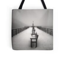 The Winter Pier Tote Bag