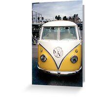 VW Bus Split window Greeting Card