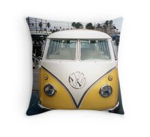 VW Bus Split window Throw Pillow
