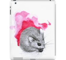 Red Hamster iPad Case/Skin