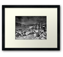 Mt. Tom and Wheeler Crest Framed Print