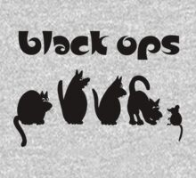 black ops Kids Clothes