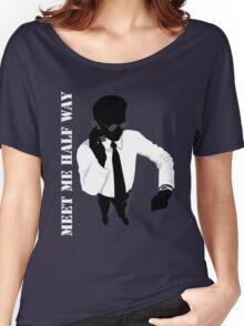 Business - Meet me half way Women's Relaxed Fit T-Shirt