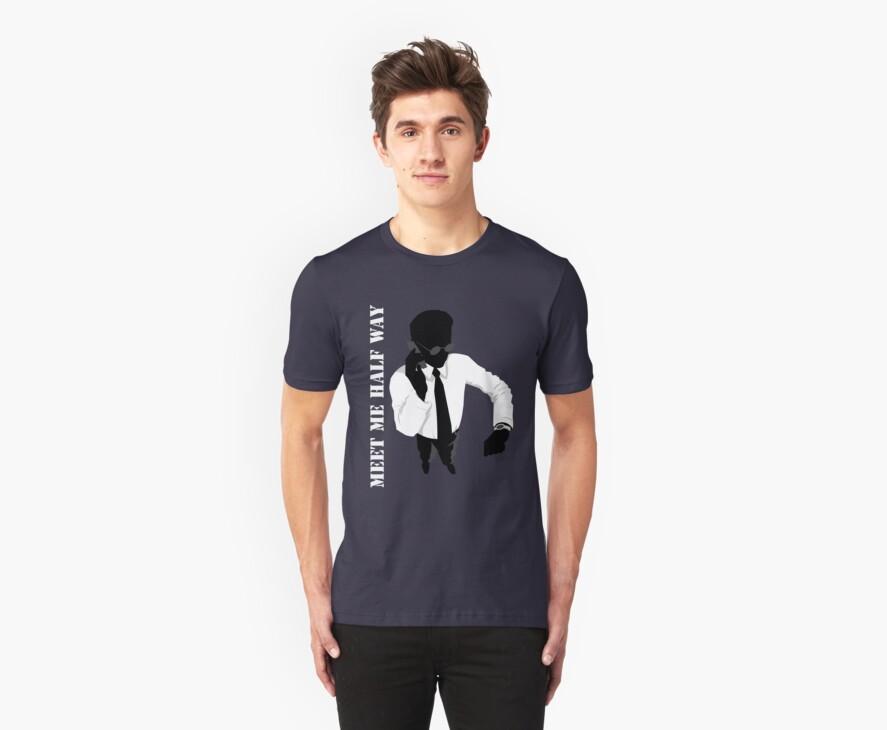 Business - Meet me half way by Vintage Retro T-Shirts