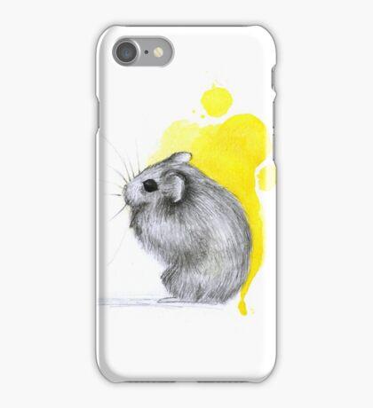 Hamster Watercolour iPhone Case/Skin