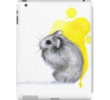 Hamster Watercolour iPad Case/Skin