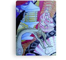 Dragon Mystery Canvas Print