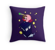 The new Doctor is here! Throw Pillow