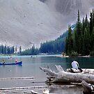 Canoeing-Moraine Lake  by Jann Ashworth