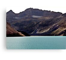 Bow Lake (1) Canvas Print