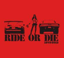 Ride or Die One Piece - Short Sleeve