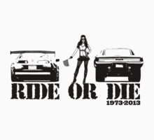 Ride or Die One Piece - Short Sleeve