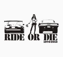 Ride or Die Kids Tee