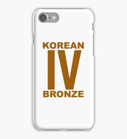 Korean Bronze IV  iPhone Case/Skin