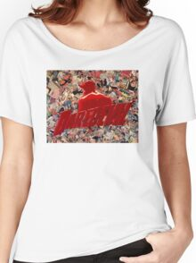 Daredevil - Comic Book Collage T-Shirt Women's Relaxed Fit T-Shirt