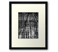 iconic melbourne Framed Print